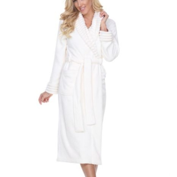 481bcdec3405 Women s Super Soft Lounge Long Robe. Boutique. White Mark